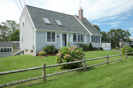 Cape cod home addition